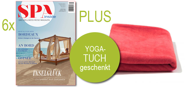 SPA inside abonnieren - Yogatowel geschenkt
