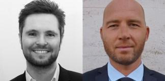 Fabian Sommer (rechts) und Alfonso Saturno. Foto: Estée Lauder Companies GmbH