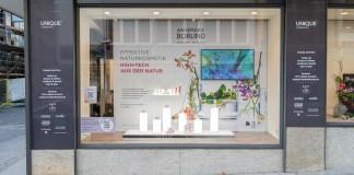 Magnwall und Unique by baslerbeauty (großes Foto) sind zusammen die Gewinner des German Innovation Awards im Bereich beste Retail & Trade Solution.