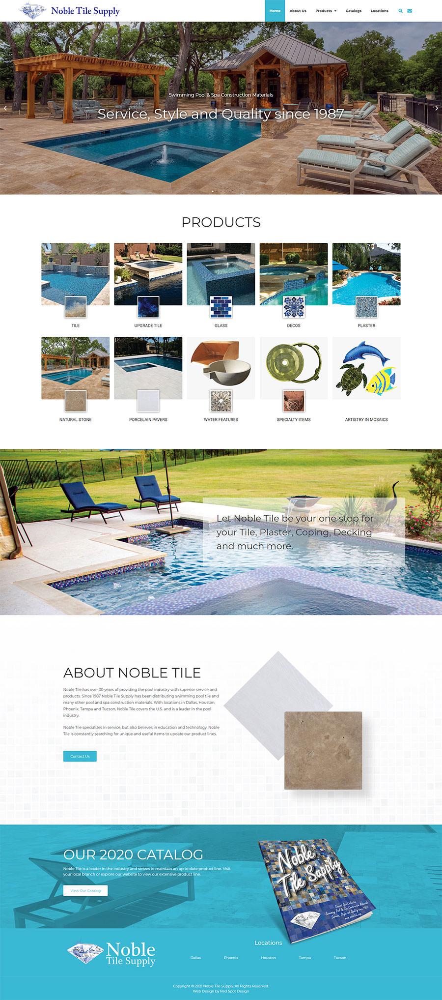 spa construction materials company
