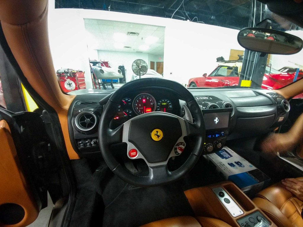 ferrari f430 stero upgrade at redstone performance