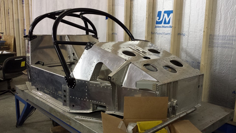 porsche 962 monocoque chassis