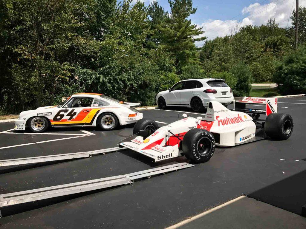 porsche formula 1 car