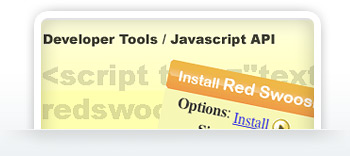 Click here for cool Swoosh Dev tools including our rockin' Javascript API