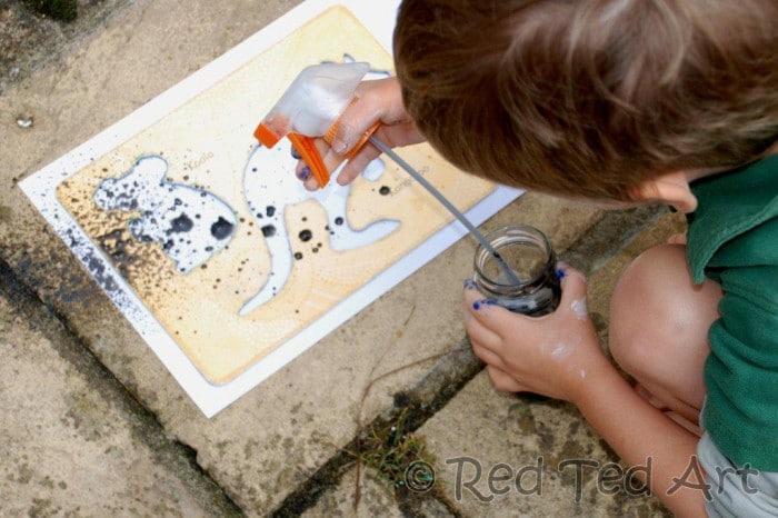 Kids Get Arty - Exploring Street Art & Banksy - Red Ted ...