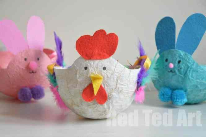 Easy Easter Craft For Kids Make A Garland Of Eggs Great Fine B86qqt8x