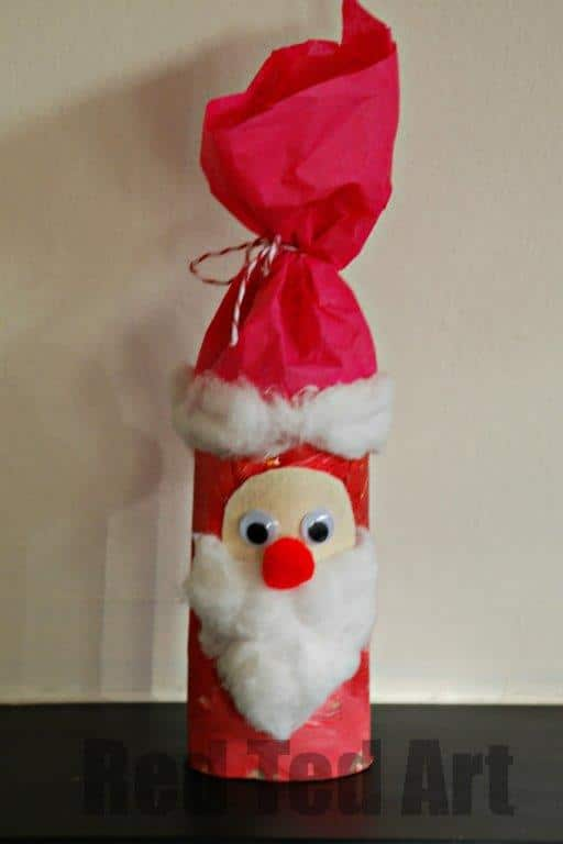 Toilet Roll Santa Nikolo Red Ted Arts Blog