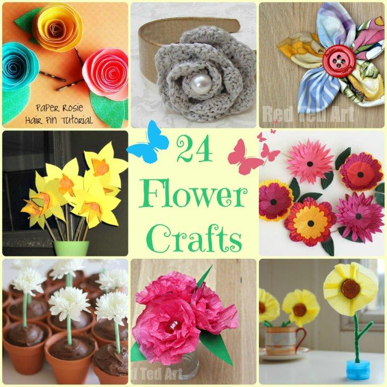 Flower Craft Ideas  wonderful spring  summer   Mother s Day ideas Flower Craft Ideas  wonderful Spring  Summer   Mother s Day ideas  My kids  LOVE