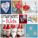 Diy Christmas Ornaments Red Ted Art Make Crafting With Kids Easy Fun