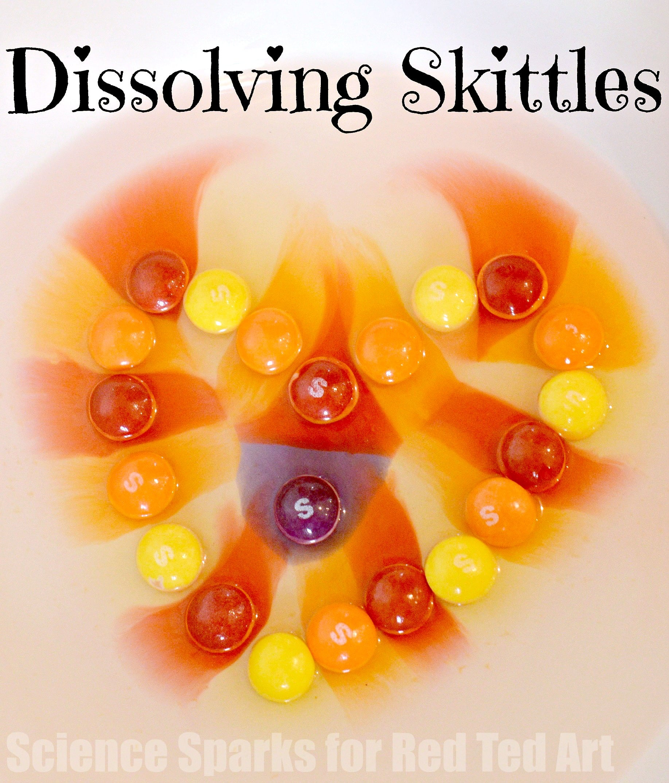 Dissolving Skittles2