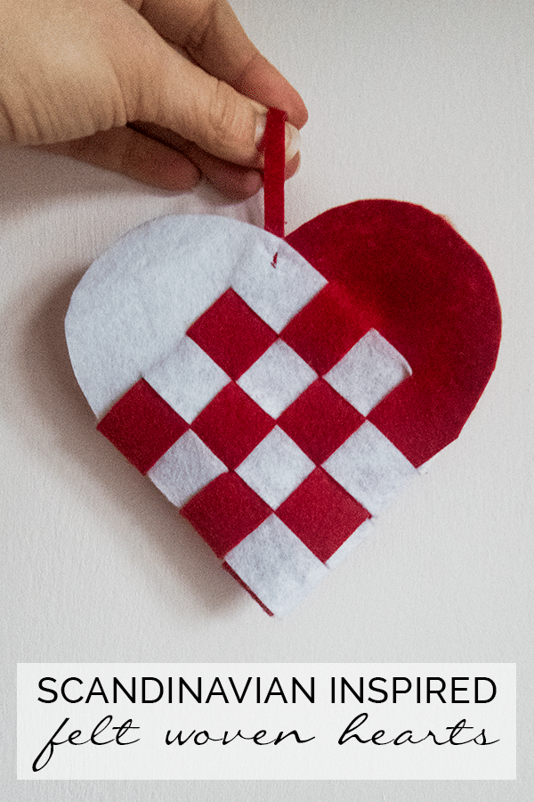 DIY Woven Heart Ornaments Red Ted Arts Blog