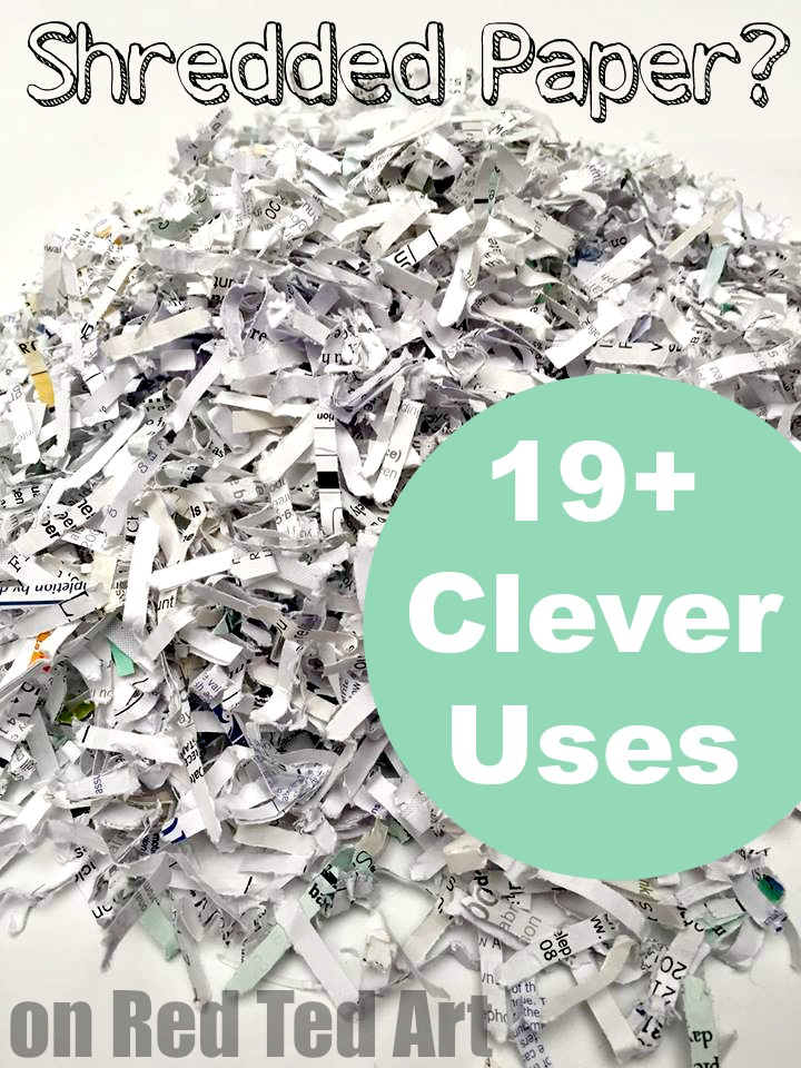 Great Uses For Shredded Paper Some Really Clever