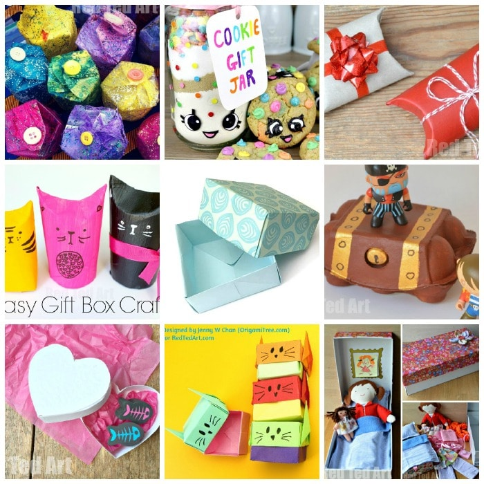 Over 15 Quirky Gift Box Ideas For Kids To Make And Enjoy