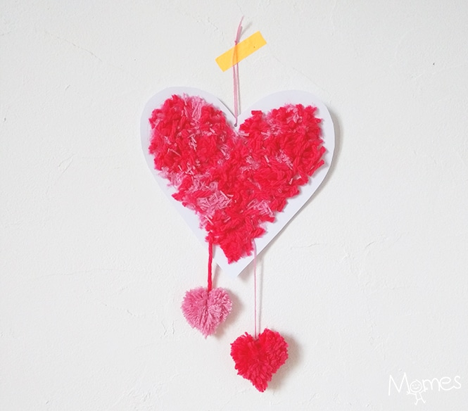 Heart Pom Poms How To Red Ted Arts Blog