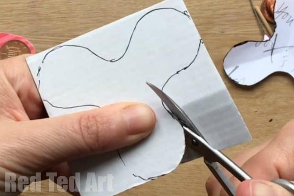 Printable DIY Fidget Spinner Instructions Red Ted Art