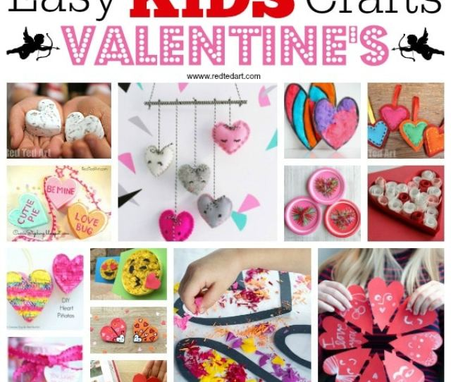 Kids Valentines Day Ideas Crafts A Fantastic Set Of Valentines Day Crafts For