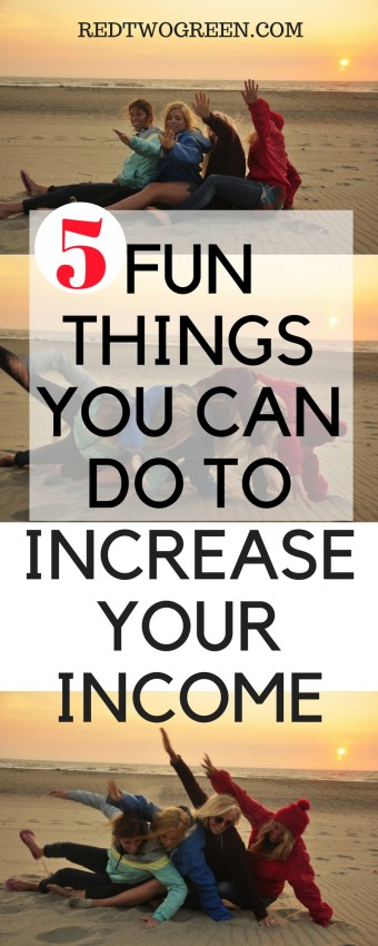 things you can do to increase your income