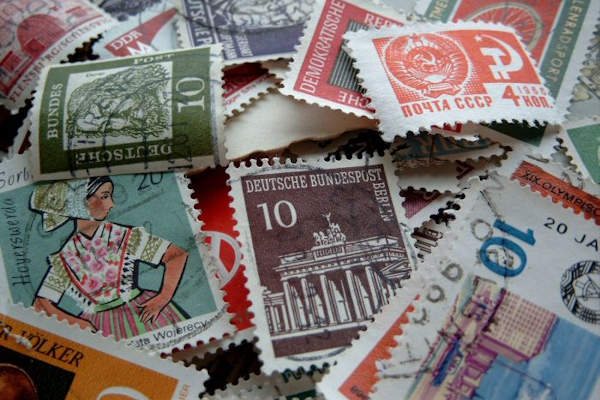 Image result for old used stamps