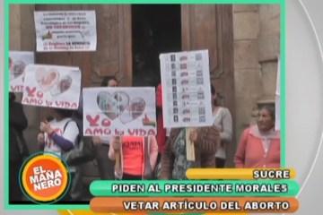 PIDEN VETO PRESIDENCIAL DEL ARTÍCULO 157 DEL CÓDIGO PENAL