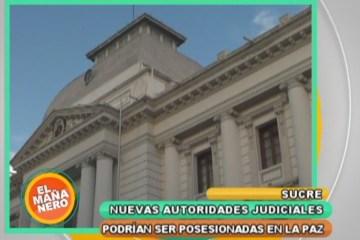 AUTORIDADES JUDICIALES SERÍAN POSESIONADAS EN LA PAZ Y NO EN SUCRE LA CAPITAL
