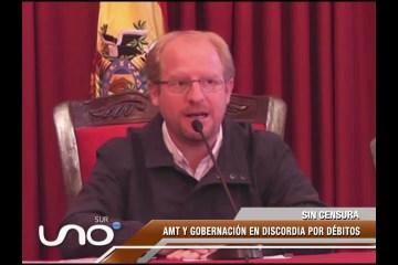 """GOBERNADOR ADRIÁN OLIVA: """"NOS HAN CONFISCADO DE MANERA ILEGAL"""""""