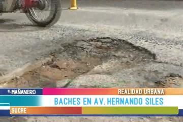 REALIDAD URBANA: BACHES EN LA AVENIDA HERNANDO SILES