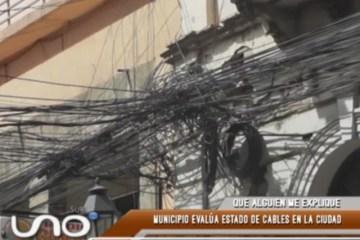 QUÉ ALGUIEN ME EXPLIQUE: EL MUNICIPIO EVALÚA EL ESTADO DE LOS CABLES EN LA CIUDAD