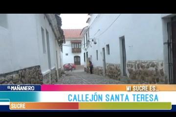MI SUCRE ES: CALLEJÓN DE SANTA TERESA