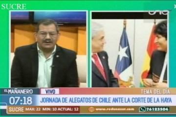 TEMA DEL DÍA: ALEGATOS DE CHILE ANTE LA HAYA
