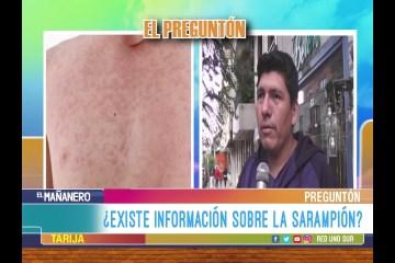 EL PREGUNTÓN: EL SARAMPIÓN
