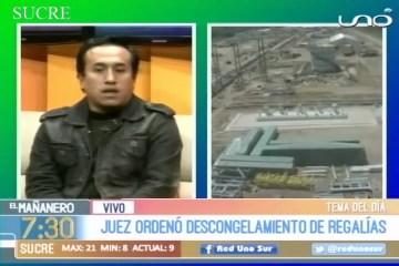JUEZ ORDENÓ DESCONGELAMIENTO DE REGALÍAS DE INCAHUASI