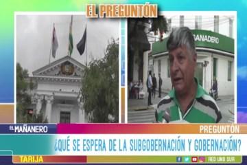 EL PREGUNTÓN: EXPECTATIVAS DE LOS HABITANTES EN CUANTO A LAS INSTITUCIONES