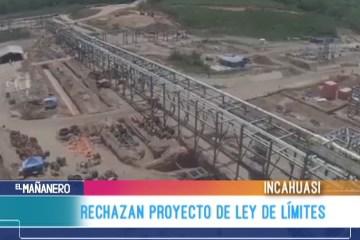 RECHAZAN PROYECTO DE LEY DE LÍMITES