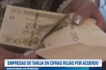 EMPRESAS DE TARIJA EN CIFRAS ROJAS POR ACUERDO