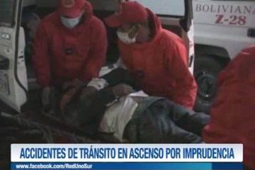 ACCIDENTES DE TRÁNSITO EN ASCENSO POR IMPRUDENCIA