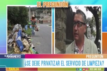 EL PREGUNTÓN: SERVICIO DE LIMPIEZA DEL MUNICIPIO