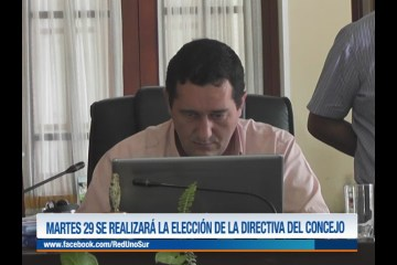 MARTES 29 SE REALIZARÁ LA ELECCIÓN DE LA DIRECTIVA DEL CONCEJO