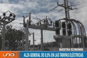 ALZA GENERAL DEL 0,5 % EN LAS TARIFAS ELÉCTRICAS