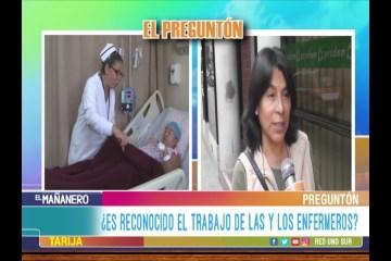 EL PREGUNTÓN: DÍA INTERNACIONAL DE LA ENFERMERA