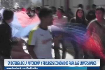 DEFENSA DE LA AUTONOMÍA Y RECURSOS ECONÓMICOS PARA LAS UNIVERSIDADES
