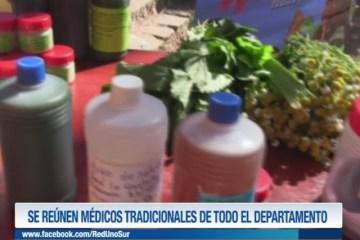 SE REÚNEN MÉDICOS TRADICIONALES DE TODO EL DEPARTAMENTO