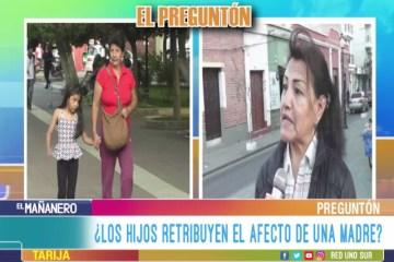 EL PREGUNTÓN: EL AMOR HACIA LA MADRE