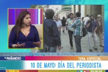 TEMA DEL DÍA: 10 DE MAYO DÍA DEL PERIODISTA BOLIVIANO