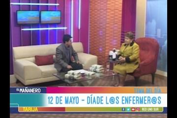 TEMA DEL DÍA: EL DÍA INTERNACIONAL DE LA ENFERMERA
