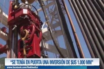 """""""SE TENÍA EN PUERTA UNA INVERSIÓN DE $US 1000 MM"""""""