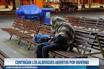 CONTINÚAN LOS ALBERGUES ABIERTOS POR INVIERNO