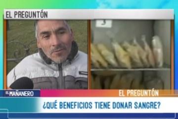 EL PREGUNTÓN: DONACIÓN DE SANGRE