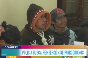 POLICÍA BUSCA REINSERCIÓN DE PARROQUIANOS