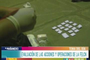 TEMA DEL DÍA: MICROTRÁFICO DE SUSTANCIAS CONTROLADAS