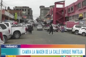CAMBIA LA IMAGEN DE LA CALLE ENRIQUE PANTOJA